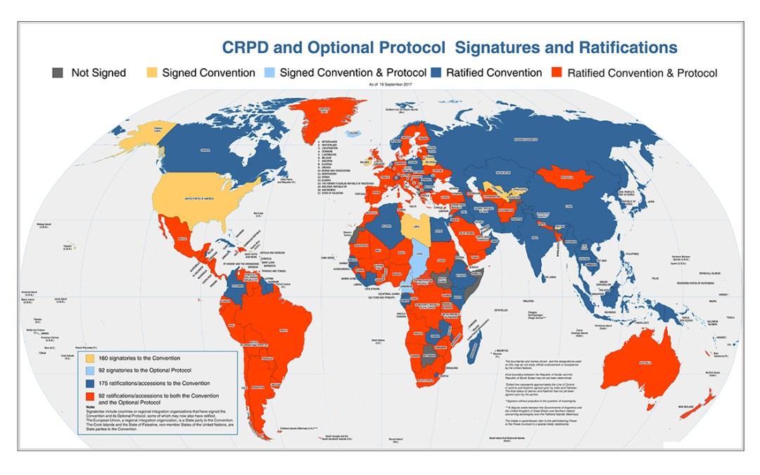 الاليات المعتمدة لمراقبة تطبيق اتفاقية حقوق الأشخاص ذوي الإعاقة