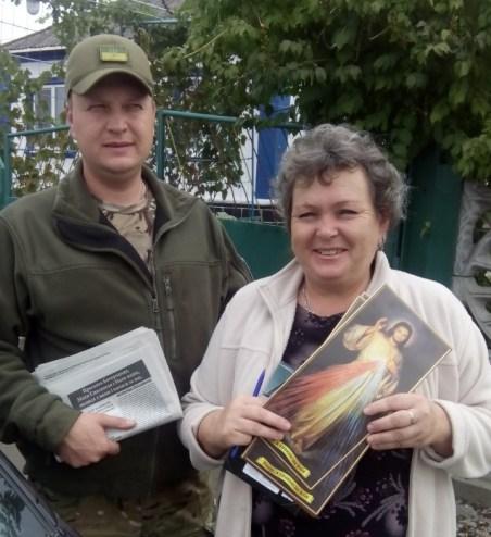 Дарья Василівна піклується про надання допомоги потребуючим с. Гнутово