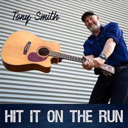 5DD537 – Tony Smith – Hit It On The Run - Cover