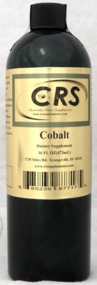 Cobalt Dietary Supplement