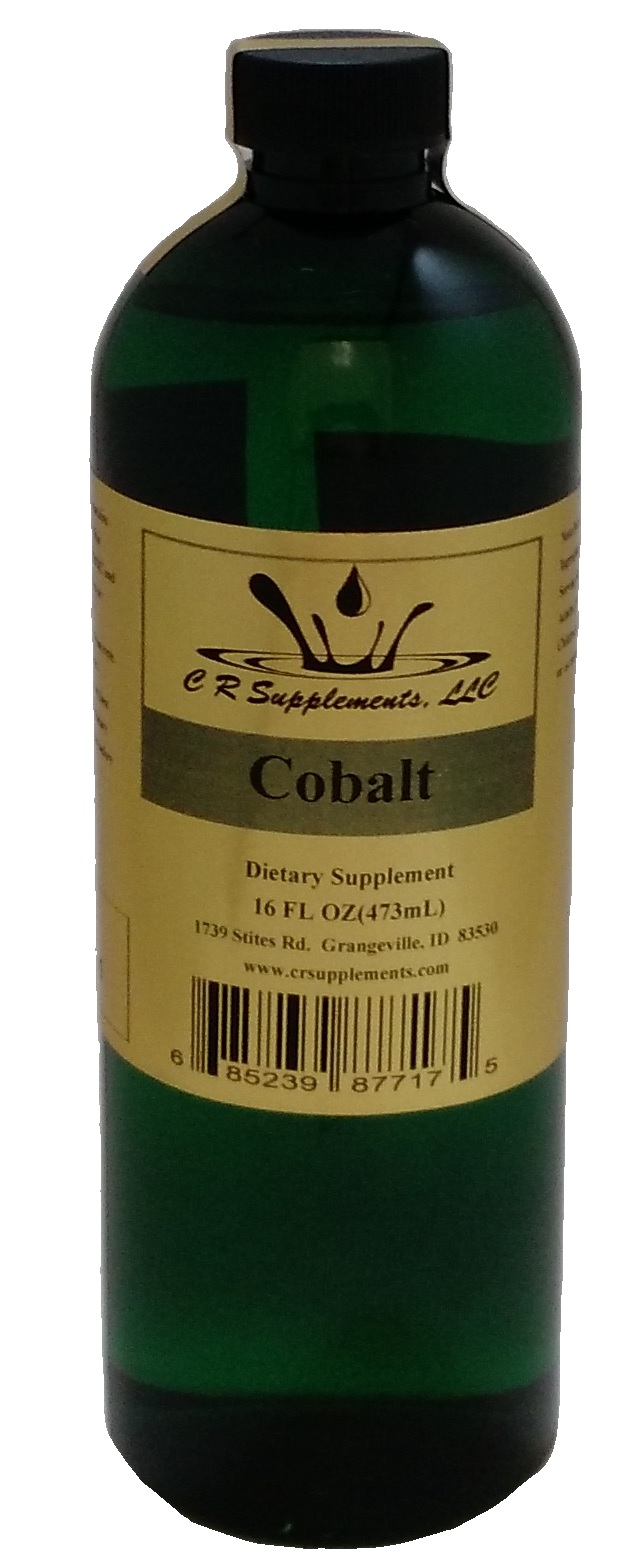 Cobalt Dietary Supplement