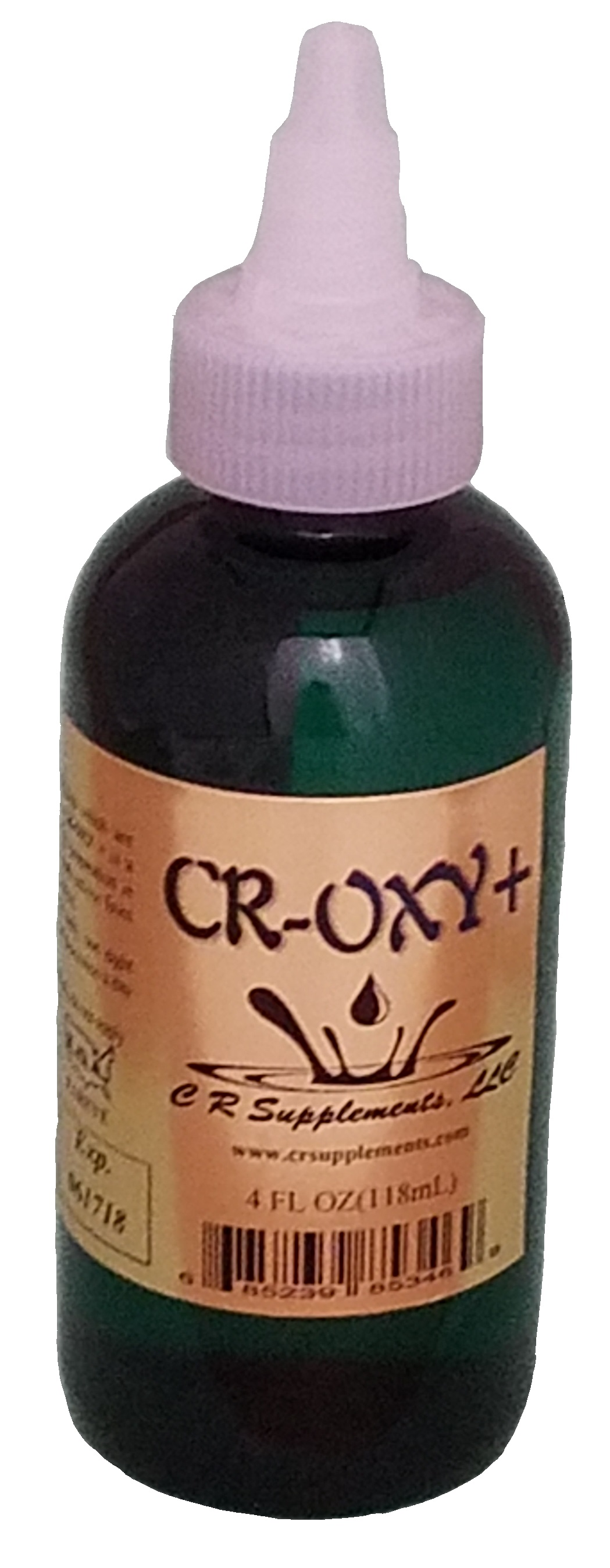 CR-OXY+ Dietary Supplement, CR-OXY+ , WaterOz CR-OXY+ Replacement, Liquid dietary supplement, Kosher of America approved, KOA approved, Pareve, vegan application, elemental mineral, flexible liquid mineral, maximum absorption