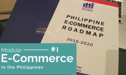 E-Commerce in the Philippines (module 1)