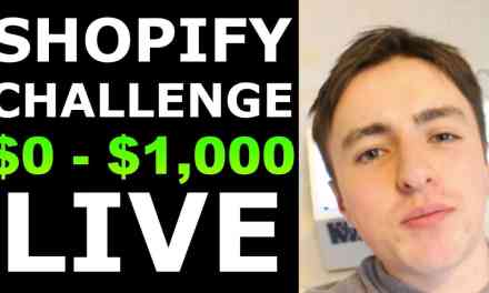 (Day 1) SHOPIFY CHALLENGE: NEW STORE FROM $0 TO $1,000 IN 7 DAYS | SHOPIFY CASE STUDY