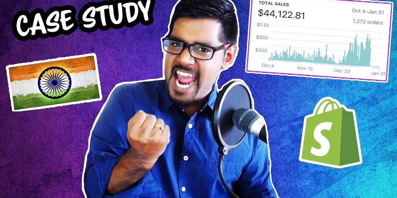 $50,000 Dropshipping From India (Shopify + AliExpress) Case Study