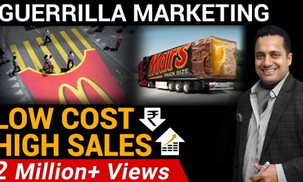 High Sales Through Low Cost Marketing | GUERRILLA MARKETING | DR VIVEK BINDRA |