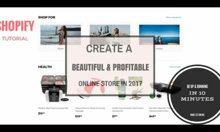 Shopify Tutorial For Beginners – How To Build An Online Store