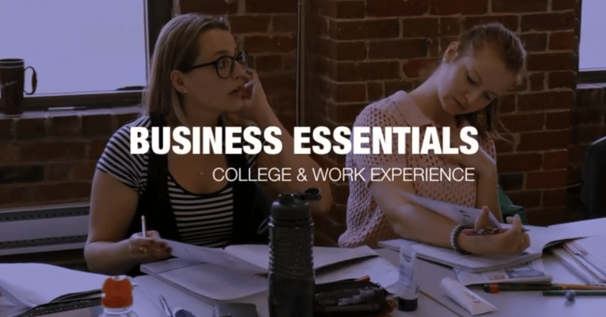 COLLEGE STUDY & WORK IN VANCOUVER | BUSINESS ESSENTIALS
