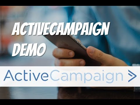 Active Campaign Demo: ✉ Best Bang for your Email Marketing Automation Buck?