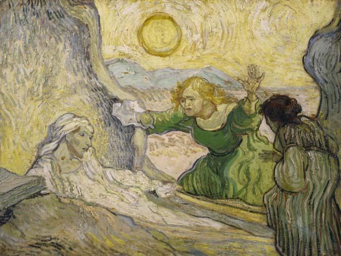 Van Gogh - The Raising of Lazarus 1890