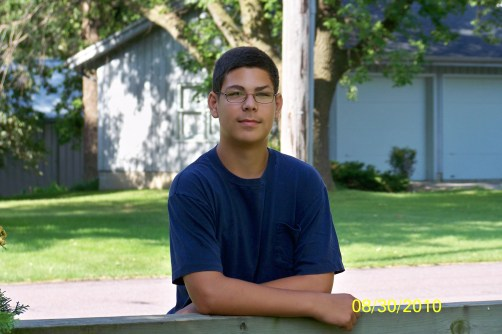 Matt - School Picture - Aug. 2010