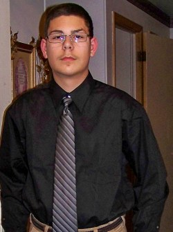 Matt - Jan. 2011 - The night before BPA (Business Professionals of America) Regional Competition