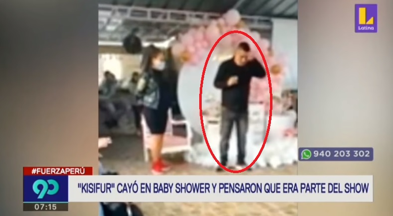 Capturaron a delincuente Kisifur en pleno Baby Shower