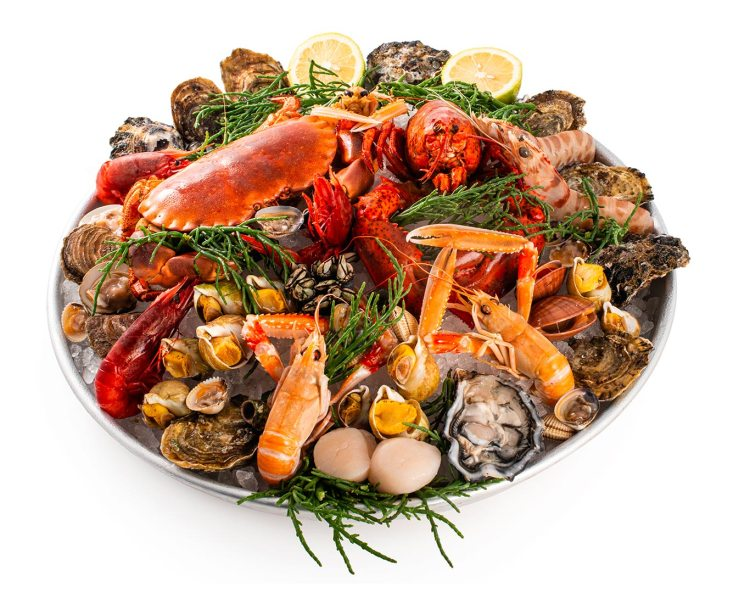 plateau royale Cruditè Milano ristorante di pesce