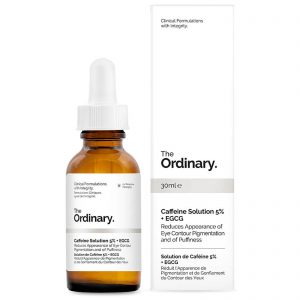 The Ordinary Caffeine Solution 5% + EGCG is one of the cruelty free eye creams