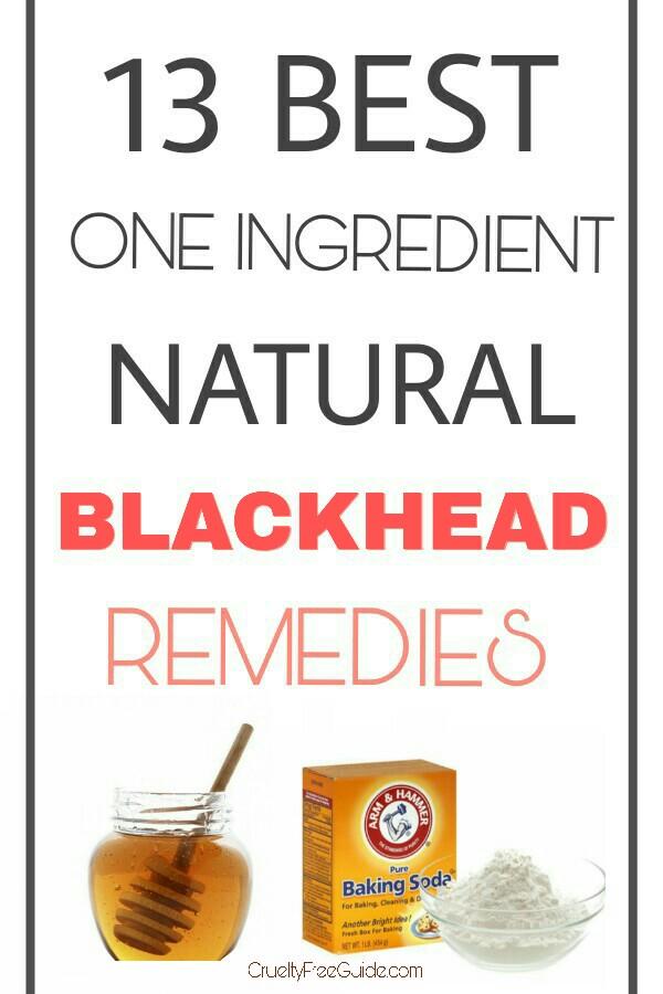 Blackhead Remover DIY Remedies