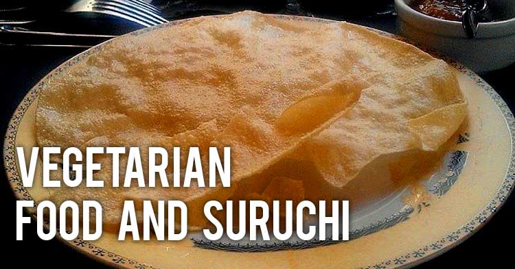 Vegetarian Food at Suruchi Indian Restaurant St Julians Malta