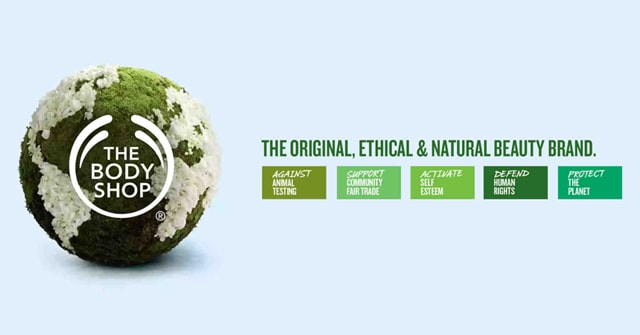 The Body Shop Vegan Products List for Malta