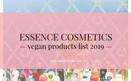 Essence Vegan