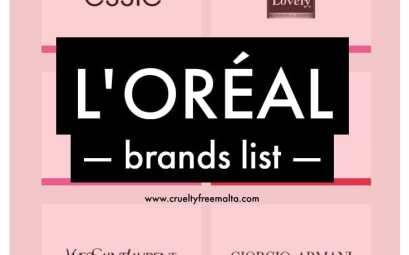L'Oréal brands list