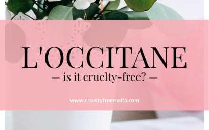 L'Occitane cruelty-free
