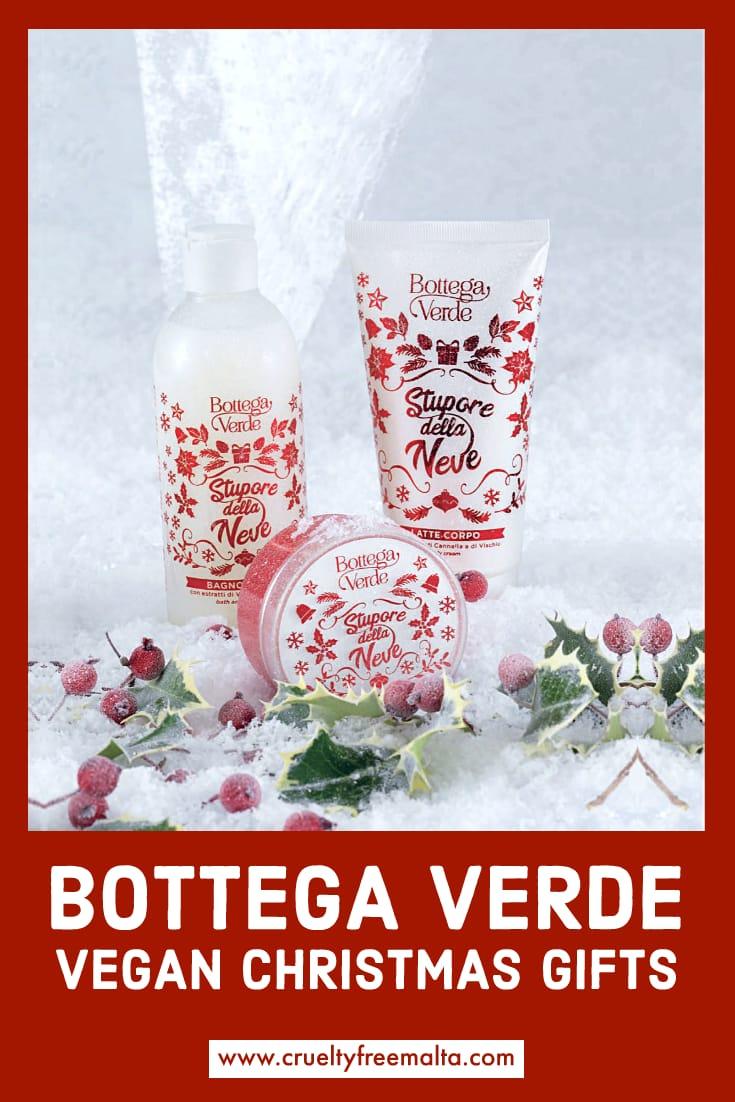 Bottega Verde Vegan Christmas Gifts 2019