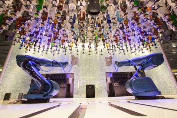 Bionic Bar aboard Quantum of the Seas.
