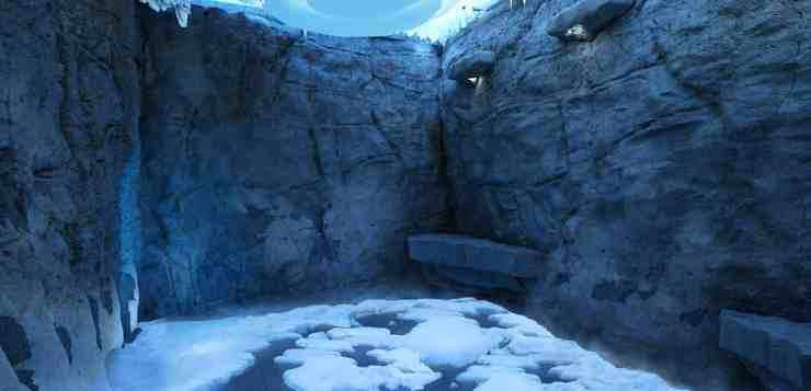 The Snow Room aboard Norwegian Escape