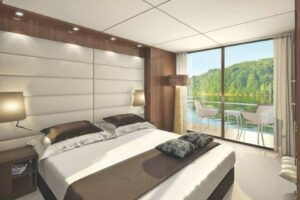 Emerald Waterways - Balcony Cabin