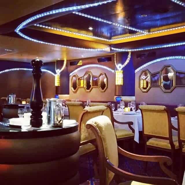 Diamonds Steak House aboard Carnival Liberty