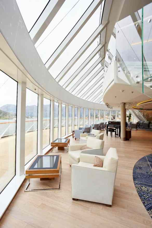 Viking Star's Explorer's Lounge