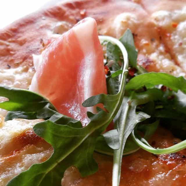 Prosciutto Pizza aboard Carnival Liberty