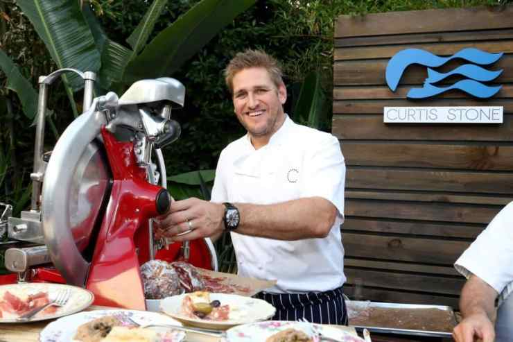 Chef Curtis Stone and Princess Cruises officially kicked-off a new partnership today in downtown Los Angeles, which features his first restaurant at sea SHARE by Curtis Stone and other new onboard culinary offerings on Mon., Aug. 17, 2015, in Los Angeles. (Photo by Casey Rodgers/Invision for Princess Cruises/AP Images)