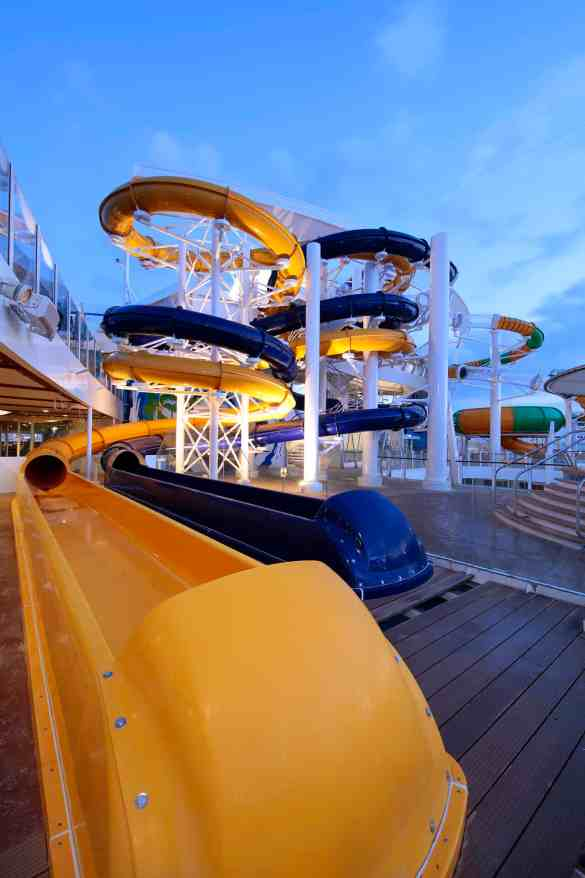 The Perfect Storm - Deck 15/16 Midship Harmony of the Seas - Royal Caribbean International