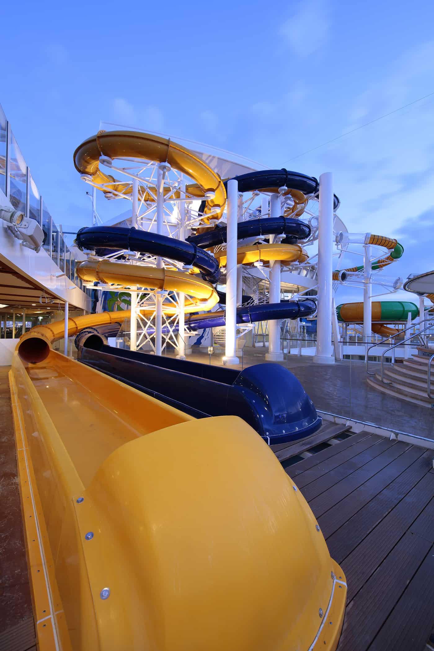 The Perfect Storm - Deck 15/16 Midship Harmony of the Seas - Royal Caribbean International