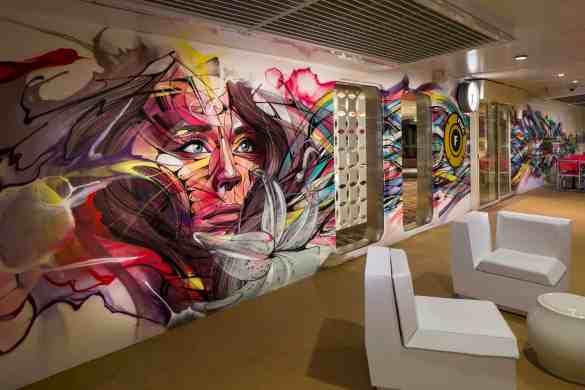 Teen Mural - Deck 15 AftHarmony of the Seas - Royal Caribbean International