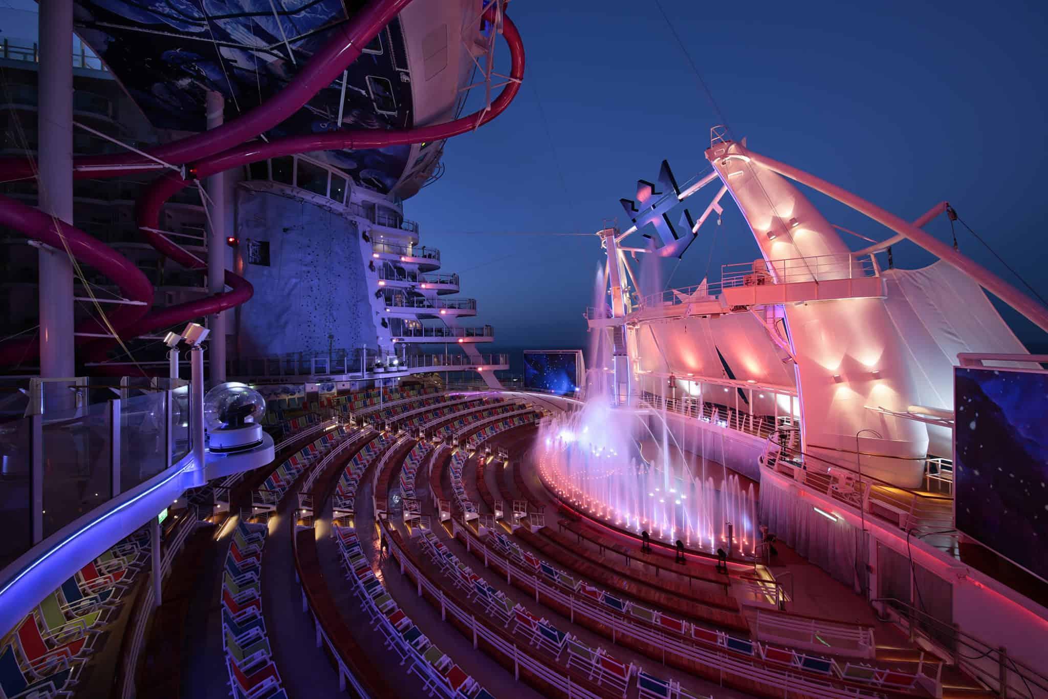 AquaTheater - Deck 6 Aft Harmony of the Seas - Royal Caribbean International
