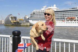 Viking Ocean Cruises Christens Second Ship in London | 1
