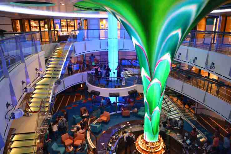 Enduring Carnival Vista Features
