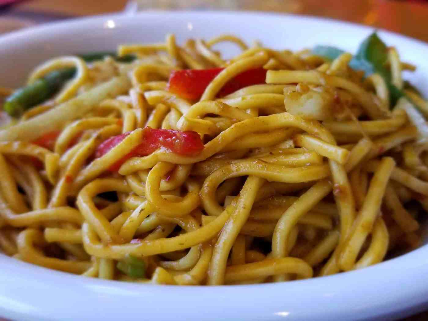 Fresh Noodles from The Mongolian Wok