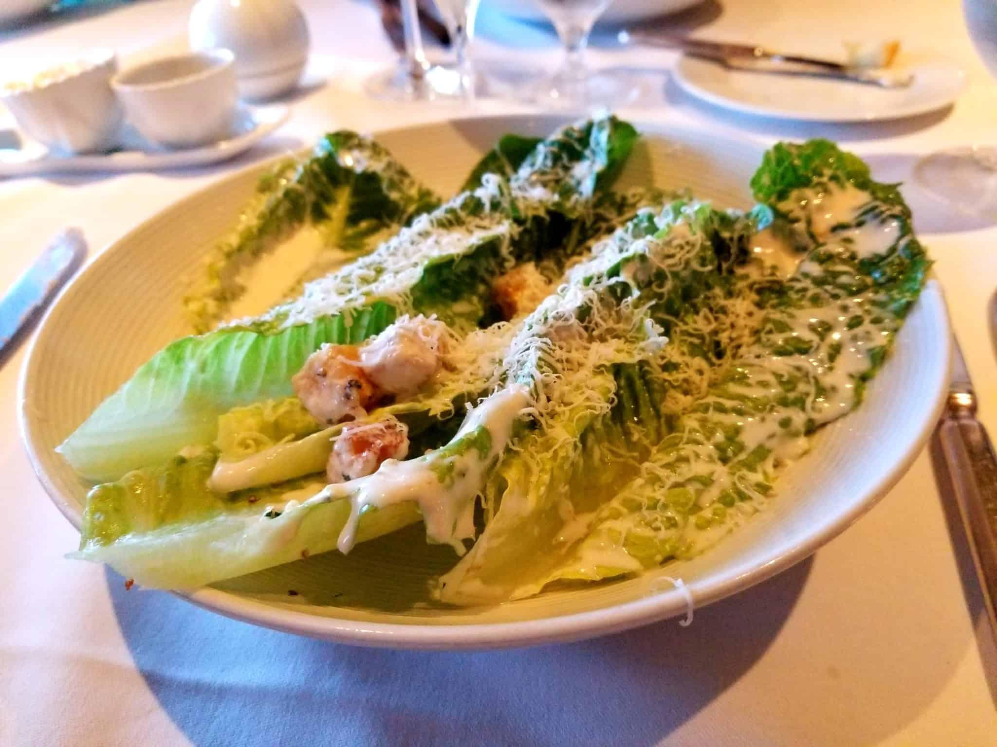 Cesar Salad, Prepared Table-Side