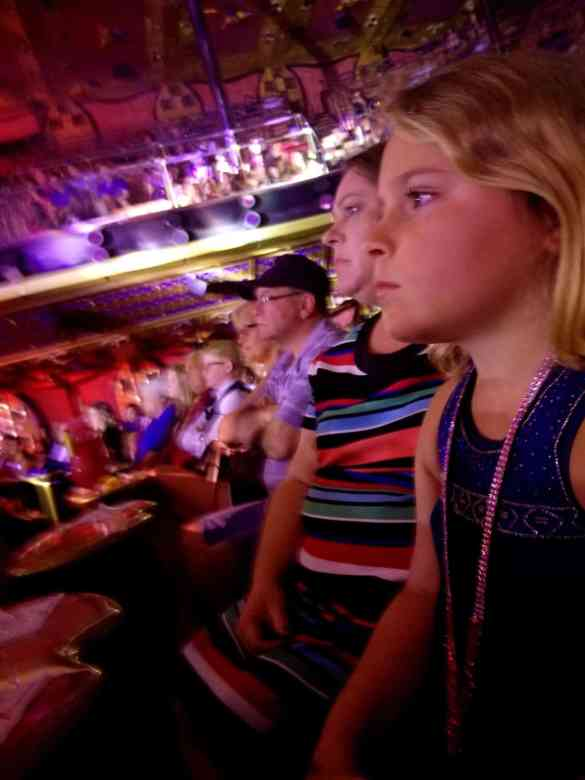 The Audience watching Flix, A Playlist Production aboard Carnival Liberty.