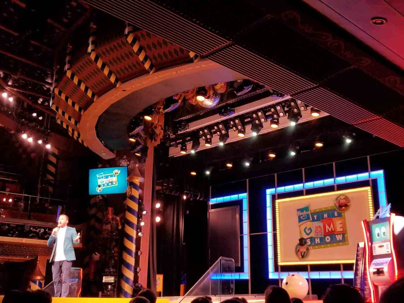 Hasbro, The Game Show aboard Carnival Liberty