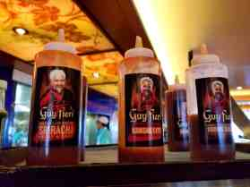 Sauces at Ol' Fashioned BBQ aboard Carnival Cruise Line