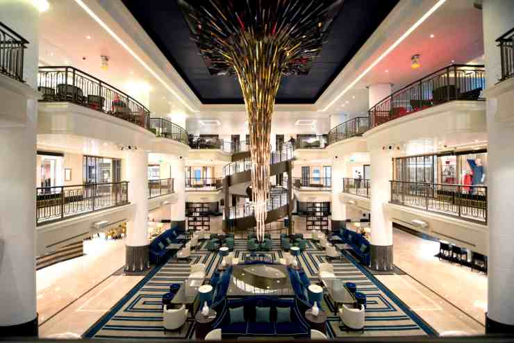 Britannia Atrium (Photo Courtesy of P&O Cruises)