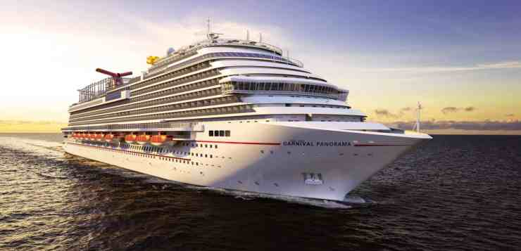 Carnival Cruise Line Now Accepting Reservations For New Carnival Panorama's Year-Round Departures from Long Beach