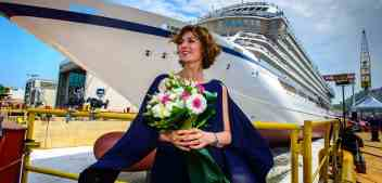Viking Celebrates Float Out Of It's Sixth Ship, Viking Jupiter