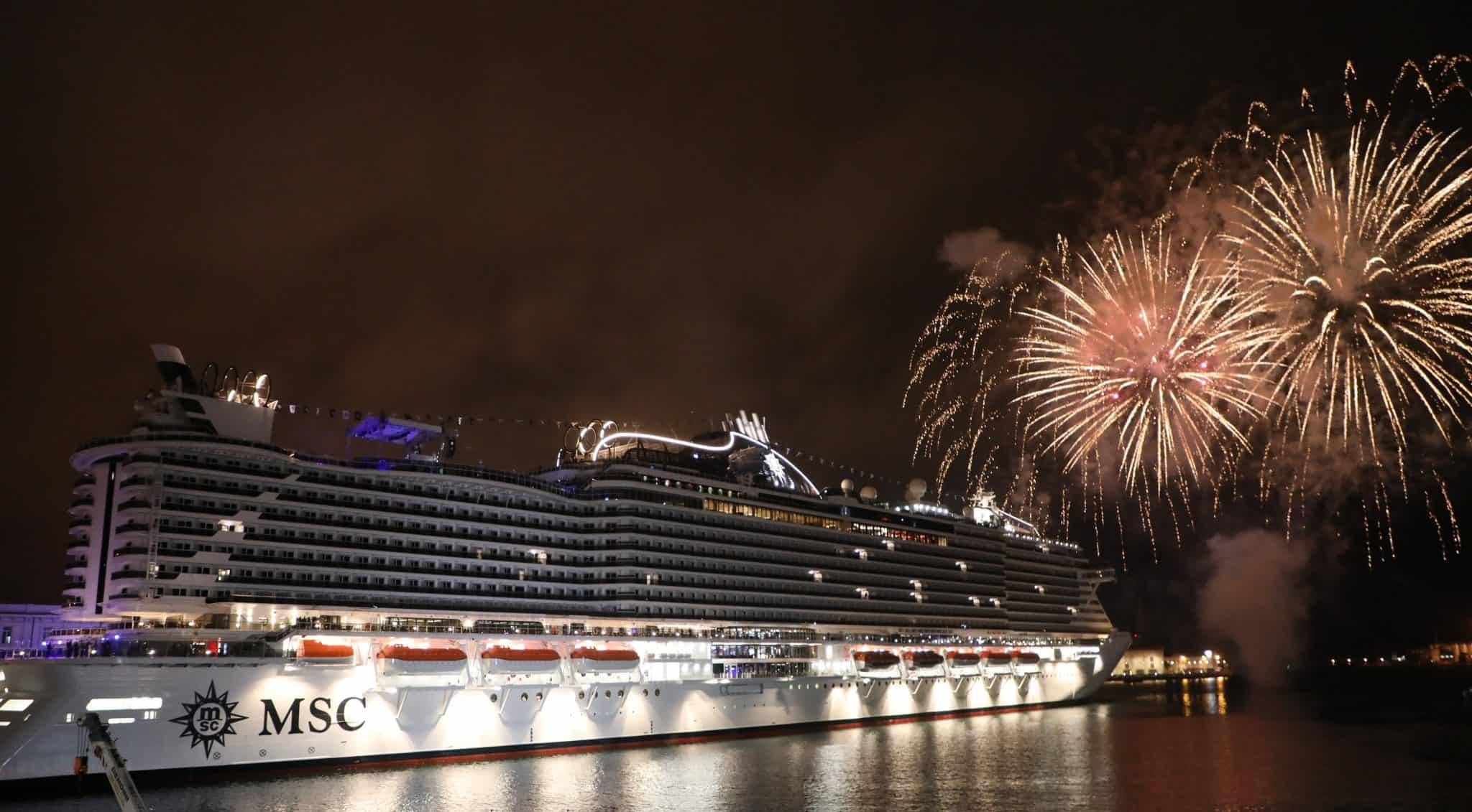 MSC Seaview Christening Video Highlights From The Port of ...