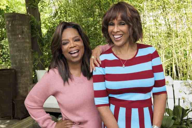 Oprah Winfrey and Gayle King