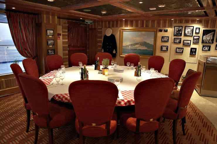 Cucina del Capitano aboard Carnival Sunrise